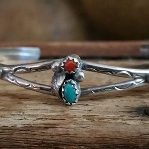 Jewelry - Native American Made Sterling Silver Bracelet